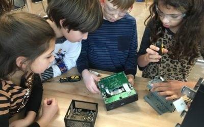 Tinker Lab Take-Apart and Circuits Galore!