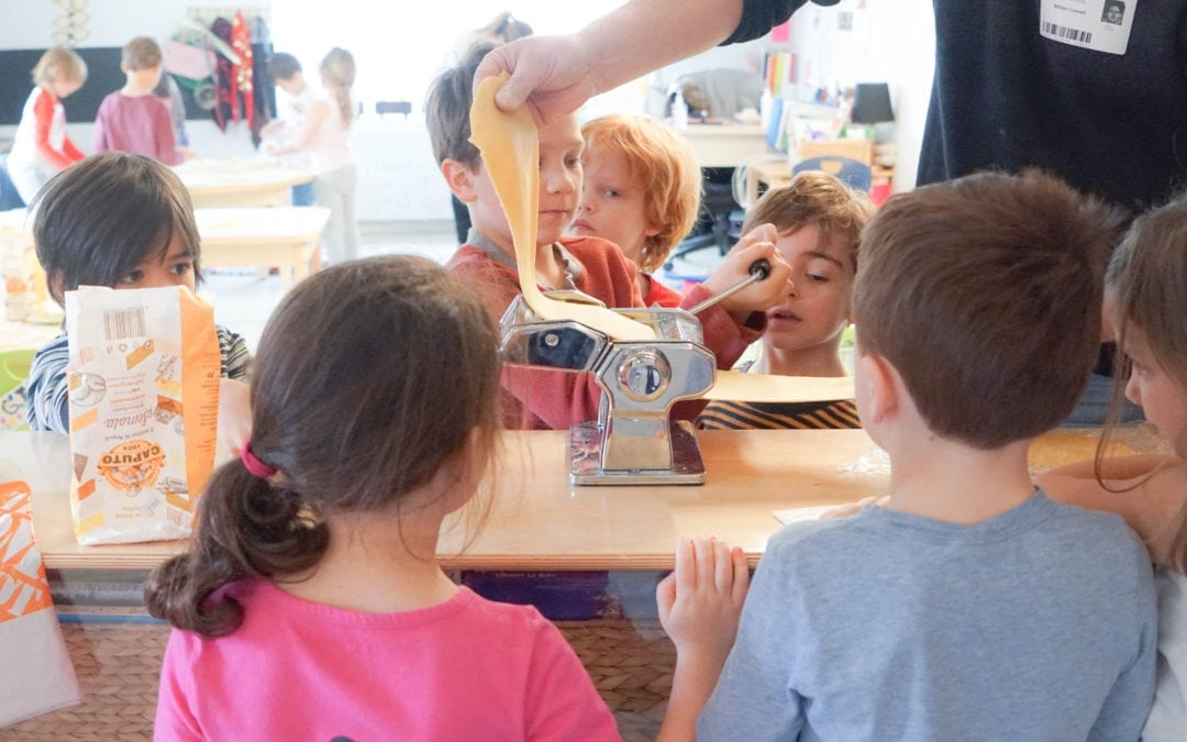 Learning through pasta and a progressive approach