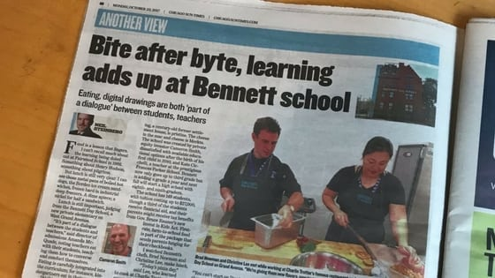 Bennett Day School Featured in Chicago Sun-Times
